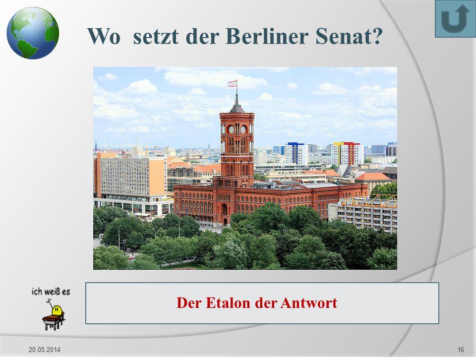 Wo setzt der Berliner Senat