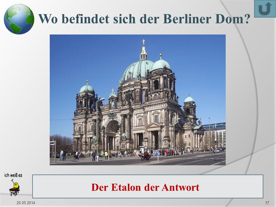 Wo befindet sich der Berliner Dom