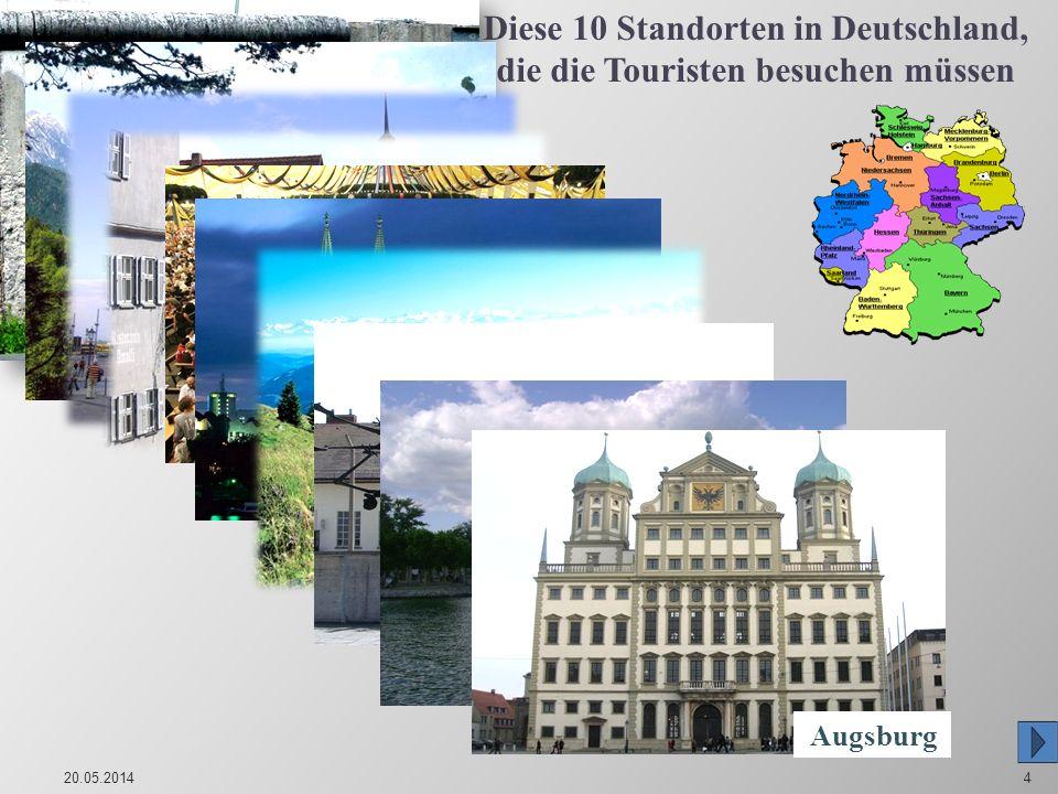 Diese 10 Standorten in Deutschland, die die Touristen besuchen müssen