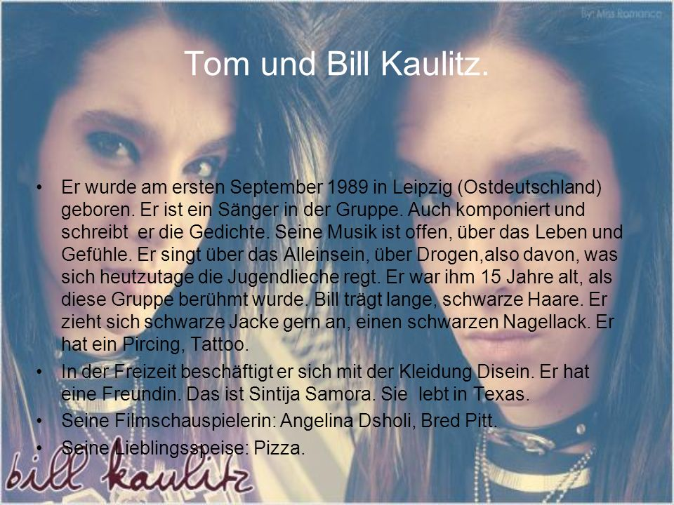 Tom und Bill Kaulitz.