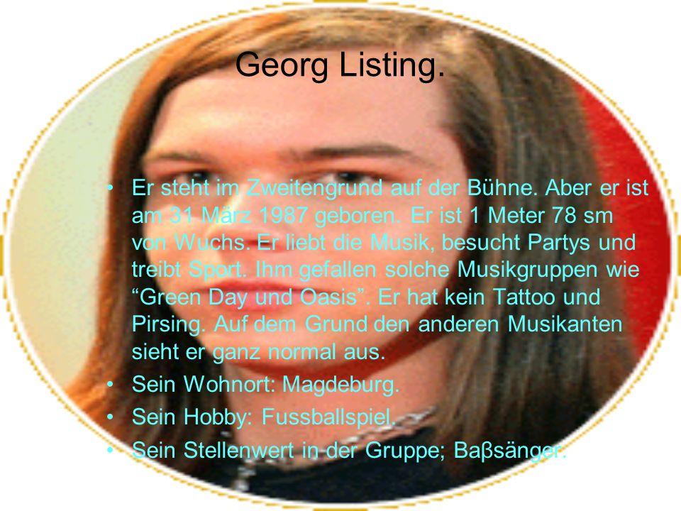 Georg Listing.