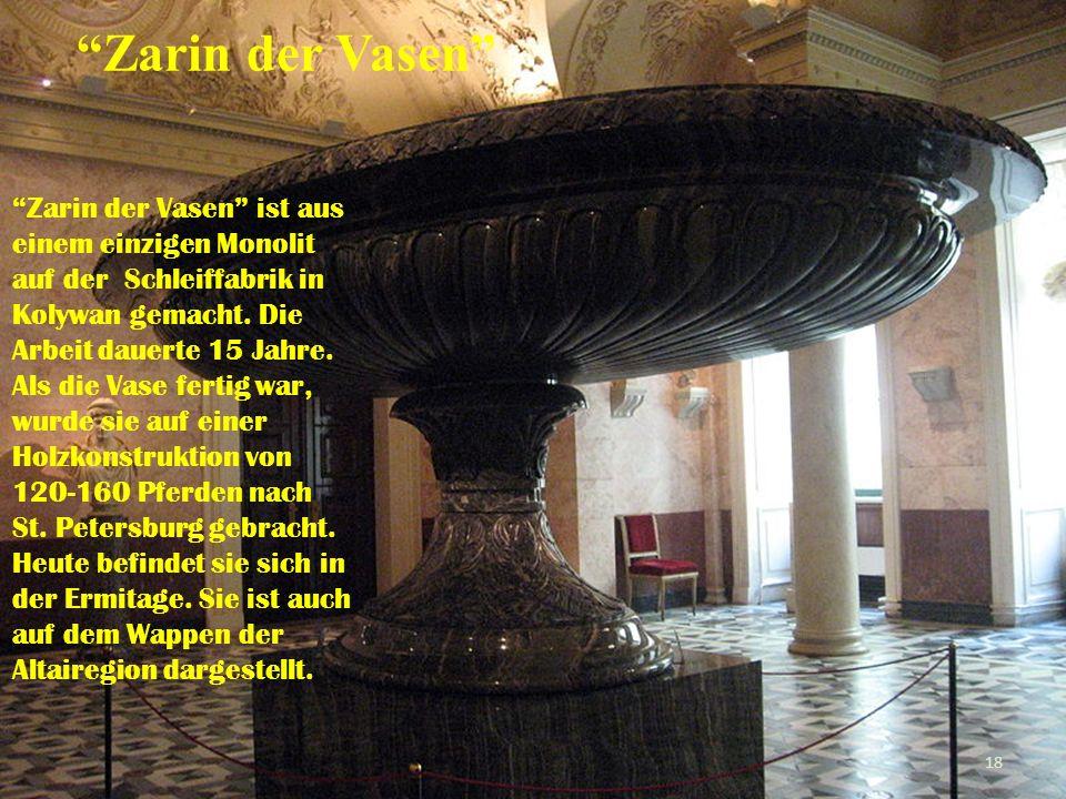 Zarin der Vasen