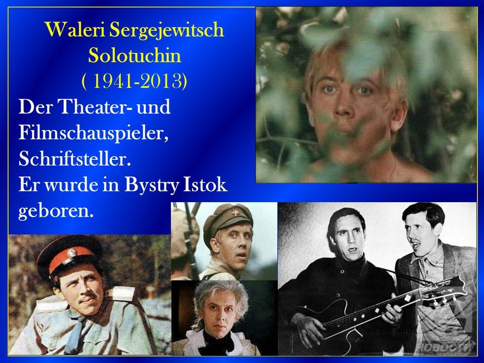 Waleri Sergejewitsch Solotuchin