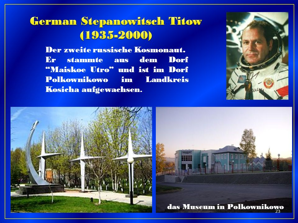 German Stepanowitsch Titow (1935-2000)