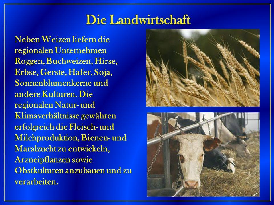 Die Landwirtschaft