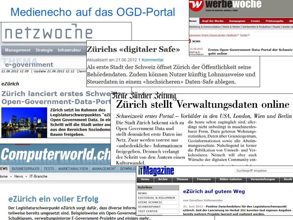 Medienecho auf das OGD-Portal
