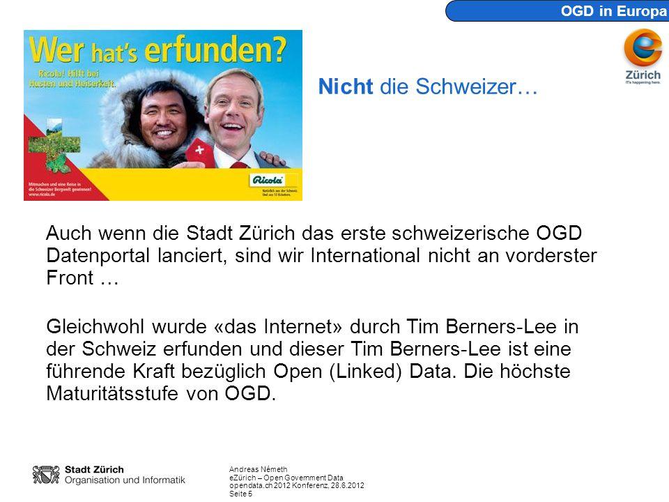 OGD in Europa Nicht die Schweizer…