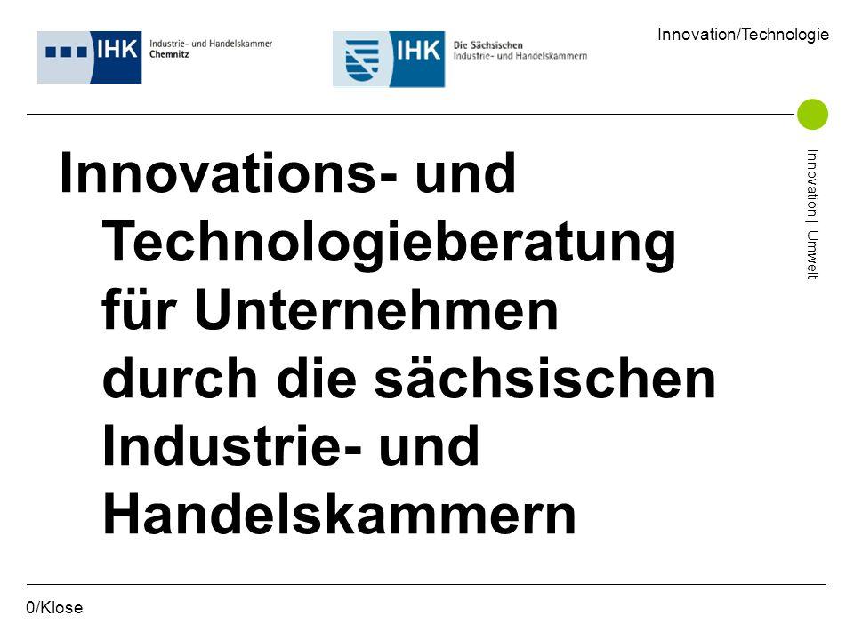 Innovations- und Technologieberatung für Unternehmen