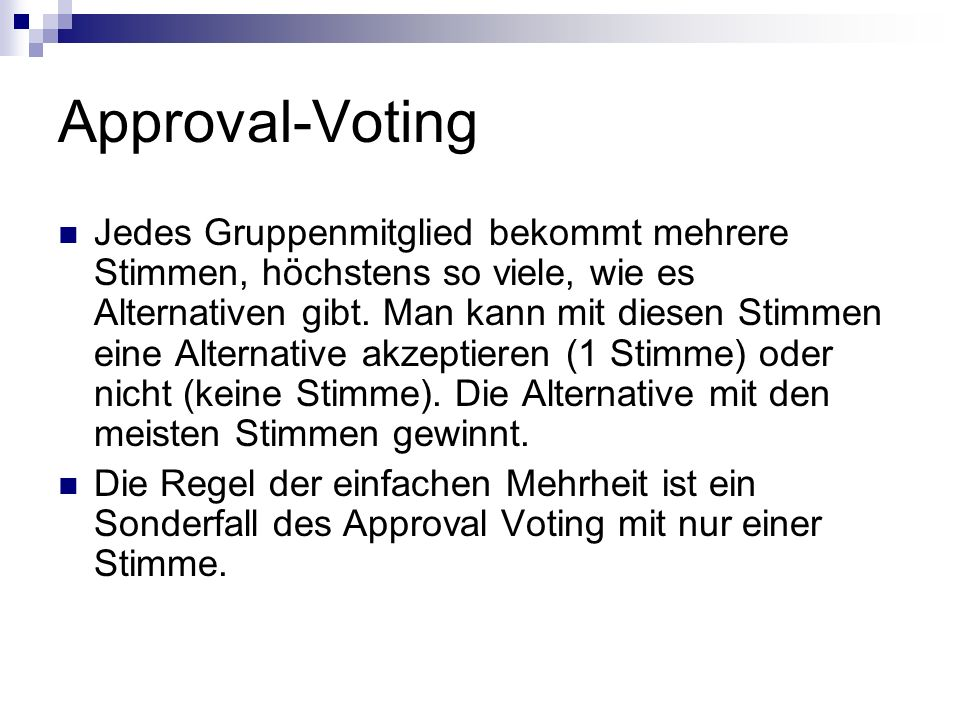 Approval-Voting