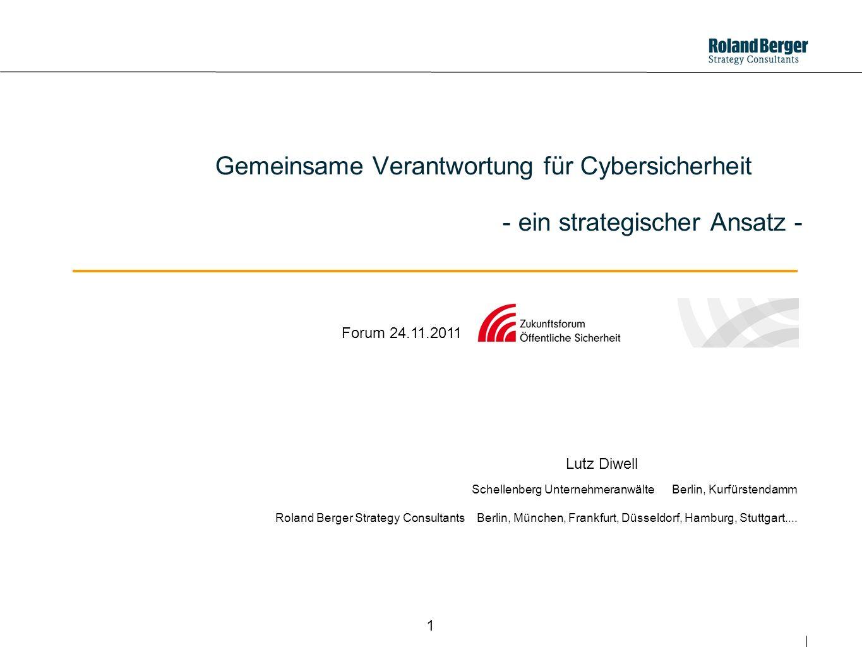 Gemeinsame Verantwortung für Cybersicherheit