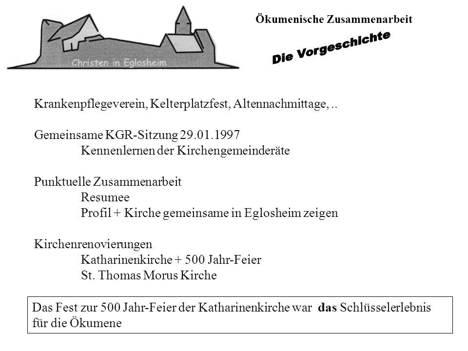 Krankenpflegeverein, Kelterplatzfest, Altennachmittage, ..