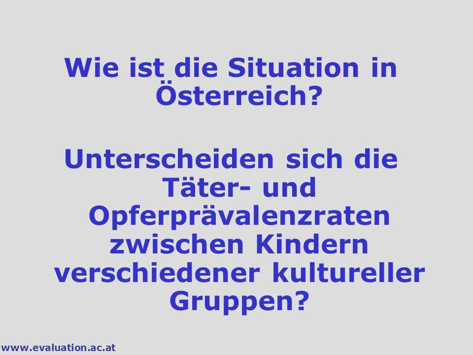 Wie ist die Situation in Österreich