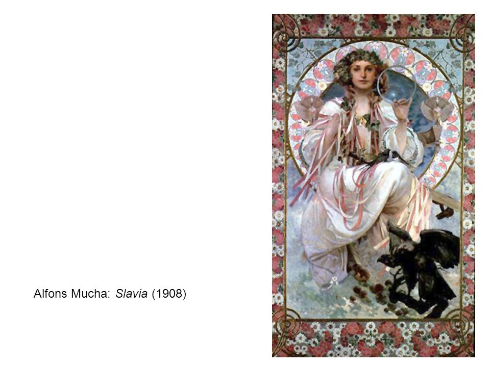 Alfons Mucha: Slavia (1908)