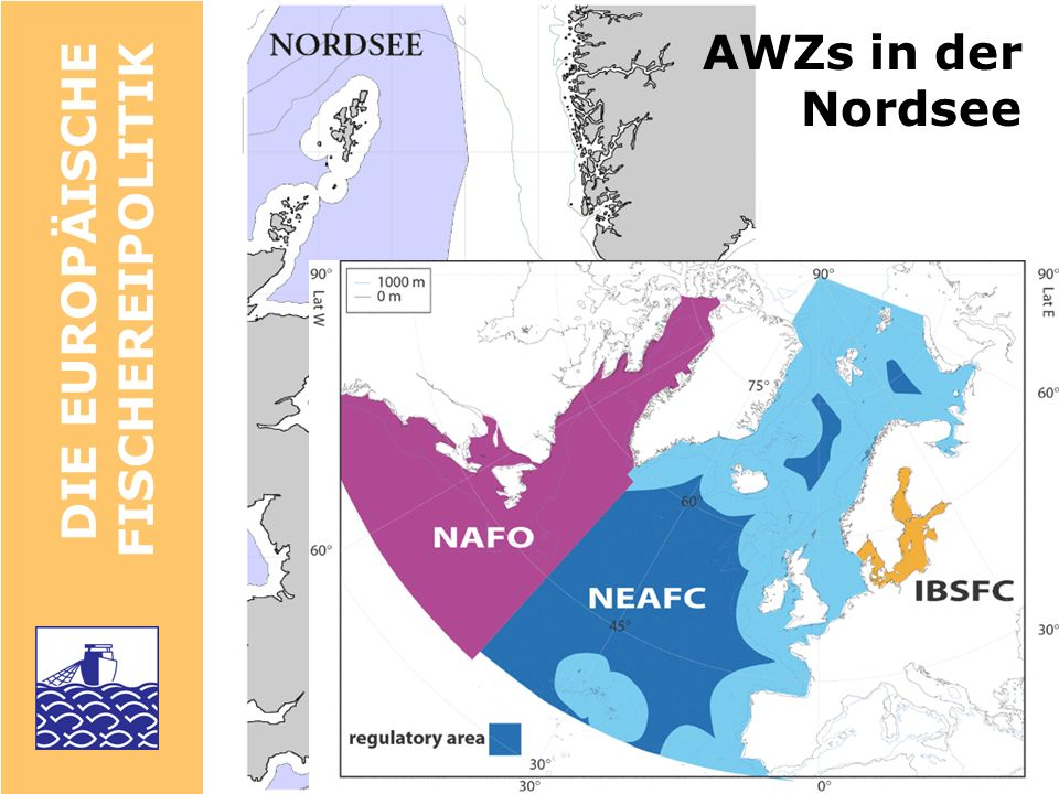 AWZs in der Nordsee DIE EUROPÄISCHE FISCHEREIPOLITIK Höchstfangmenge,