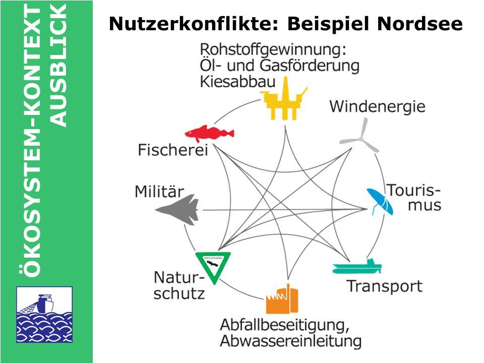 Nutzerkonflikte: Beispiel Nordsee