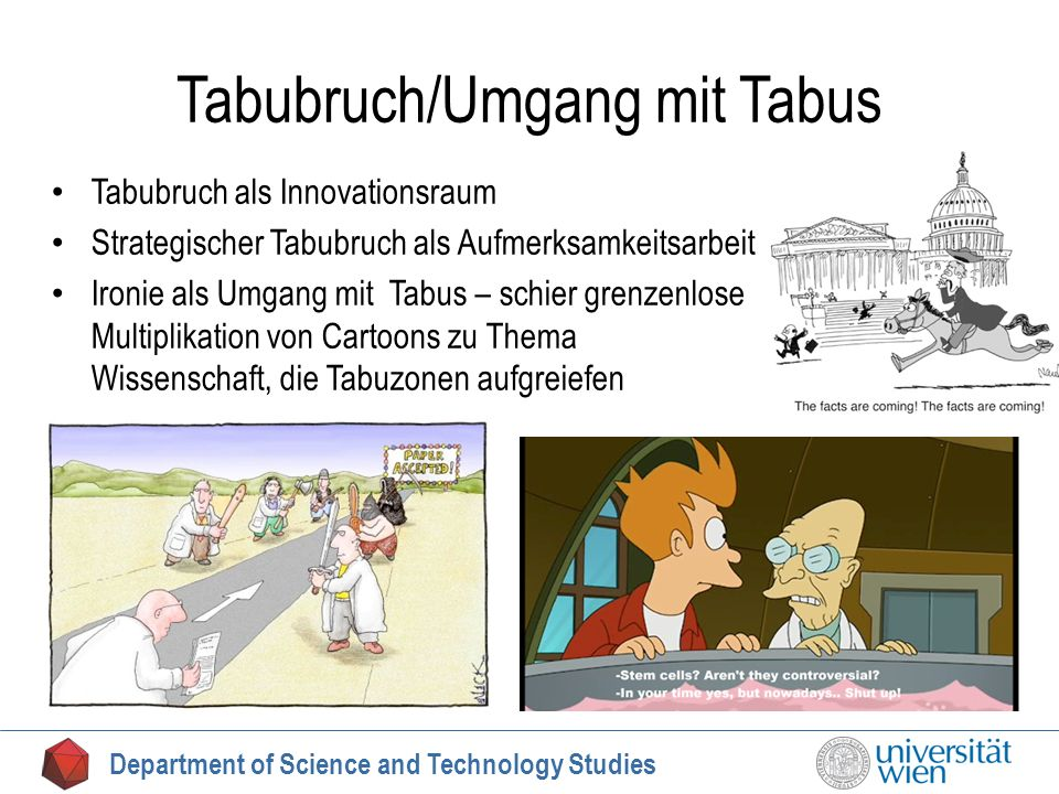 Tabubruch/Umgang mit Tabus