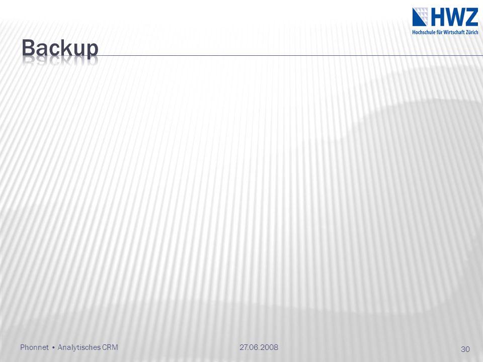 Backup 27.06.2008