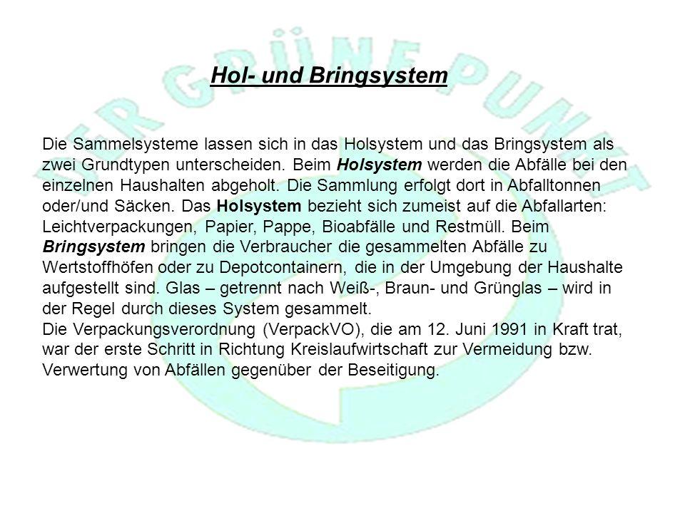 Hol- und Bringsystem
