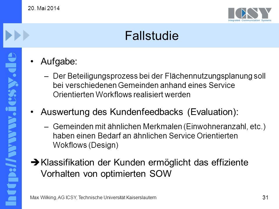 Fallstudie Aufgabe: Auswertung des Kundenfeedbacks (Evaluation):