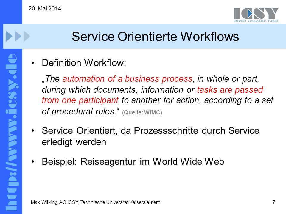 Service Orientierte Workflows