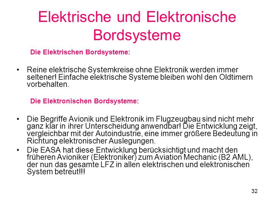 Elektrische und Elektronische Bordsysteme