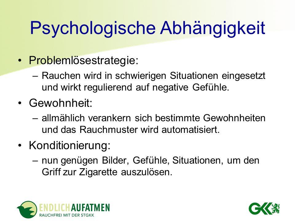 Psychologische Abhängigkeit