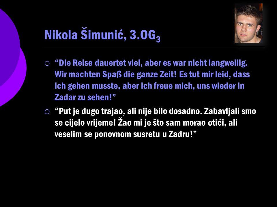 Nikola Šimunić, 3.OG3