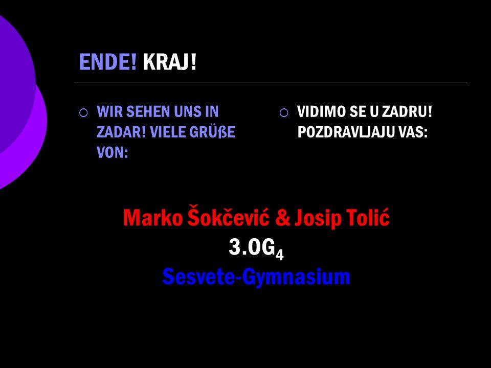 Marko Šokčević & Josip Tolić 3.OG4 Sesvete-Gymnasium