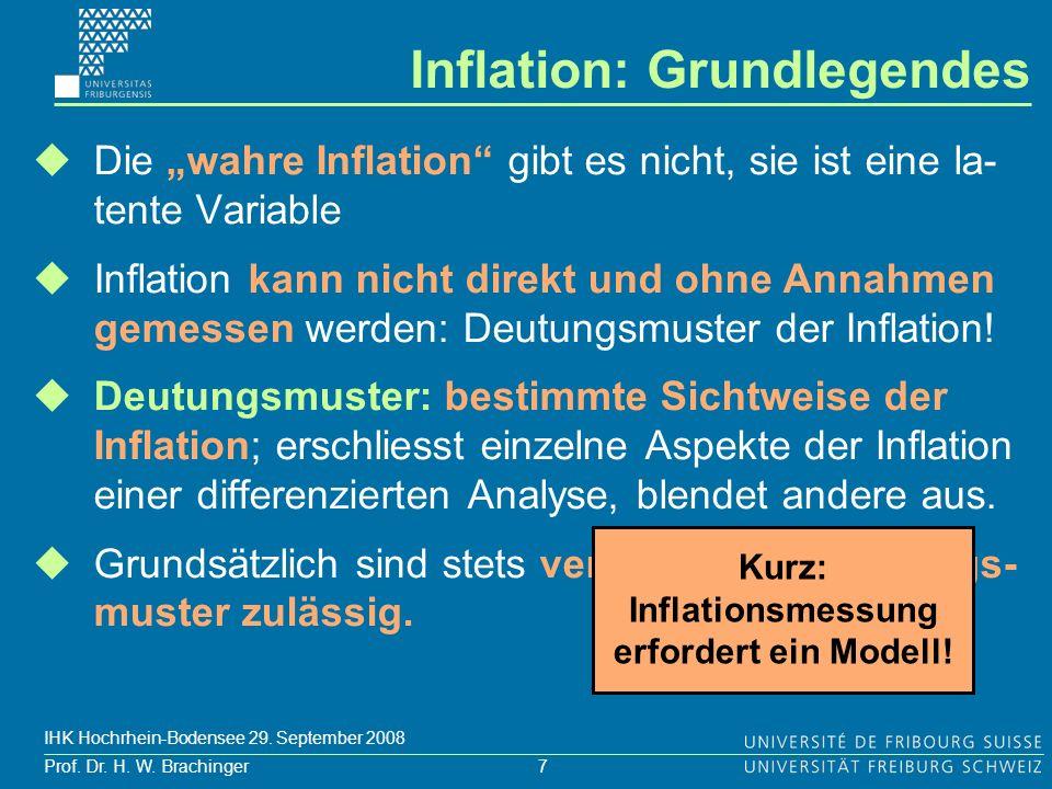 Inflation: Grundlegendes