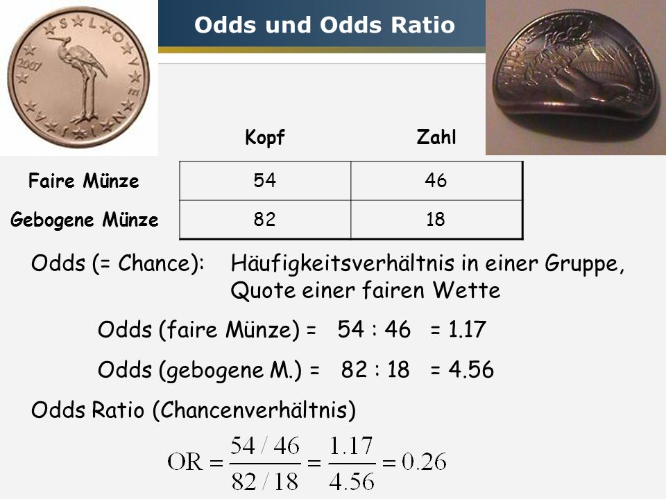 Odds Ratio (Chancenverhältnis)