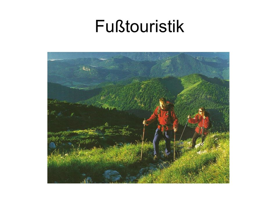 Fußtouristik