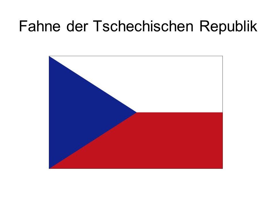 Fahne der Tschechischen Republik