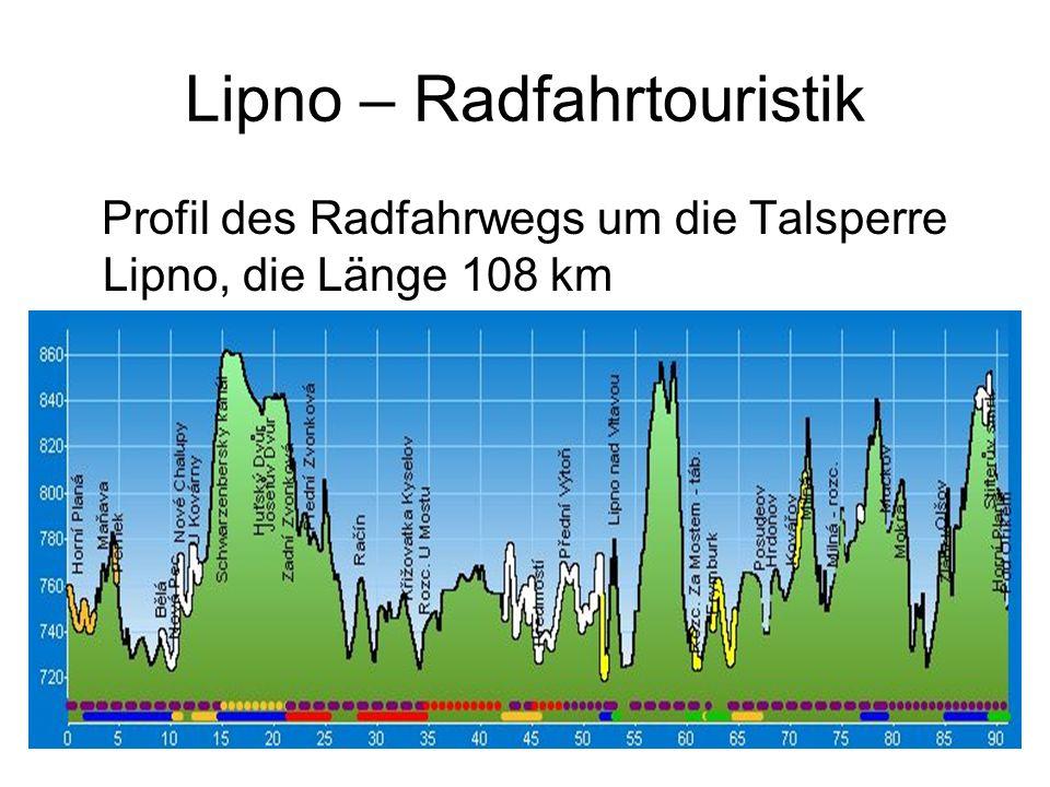 Lipno – Radfahrtouristik