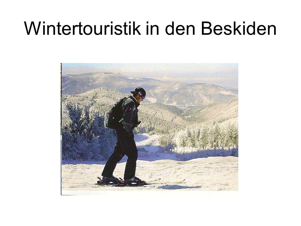 Wintertouristik in den Beskiden
