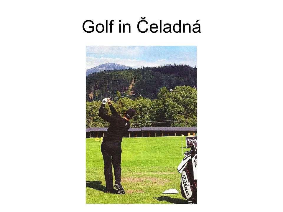 Golf in Čeladná