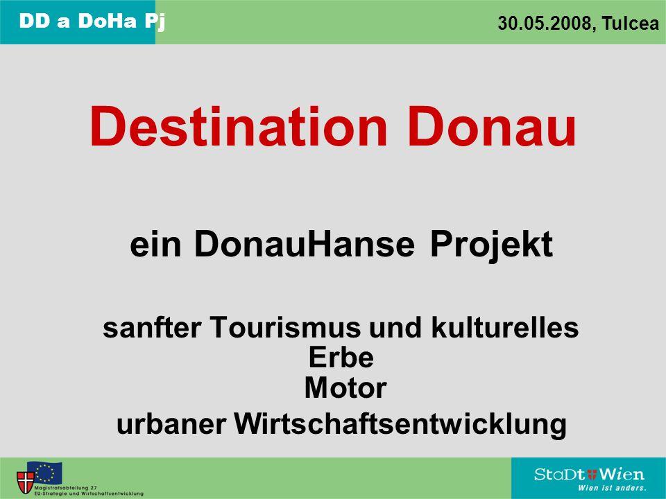 ein DonauHanse Projekt sanfter Tourismus und kulturelles Erbe