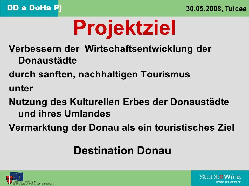 Projektziel Destination Donau