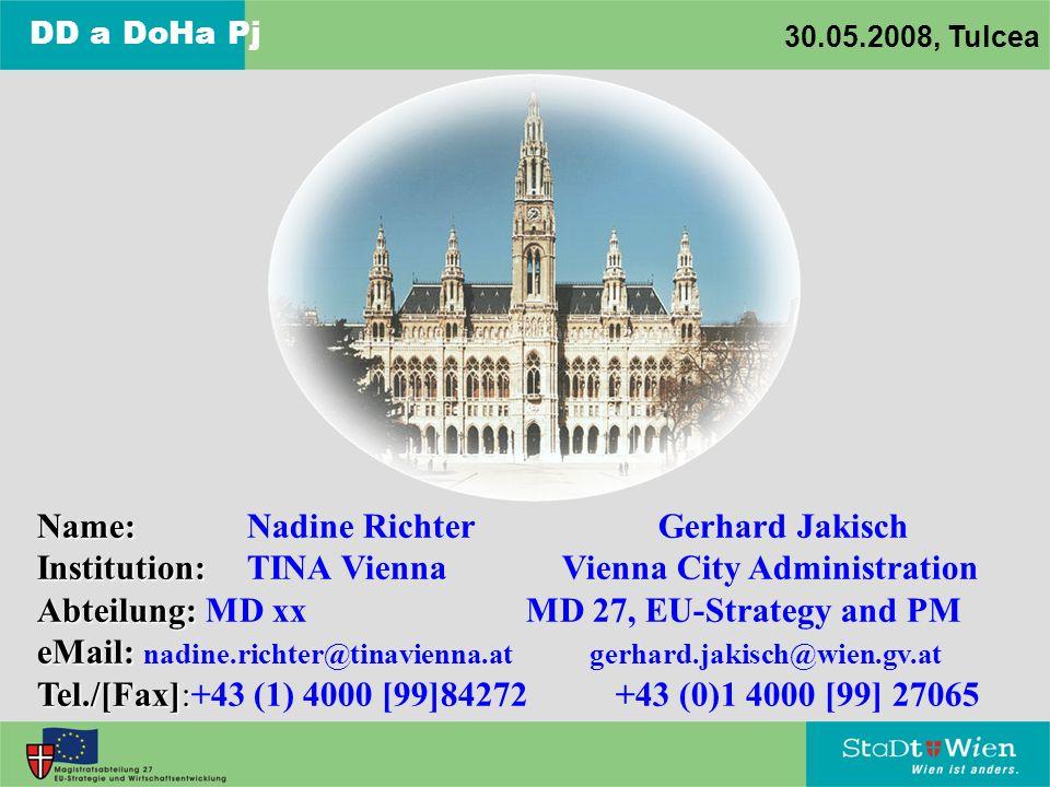 Name: Nadine Richter Gerhard Jakisch