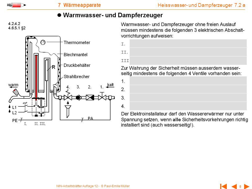 Heisswasser- und Dampferzeuger 7.2 a