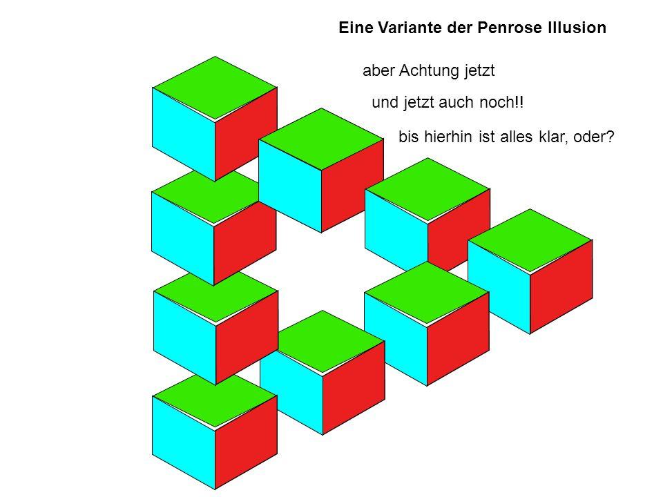 Eine Variante der Penrose Illusion
