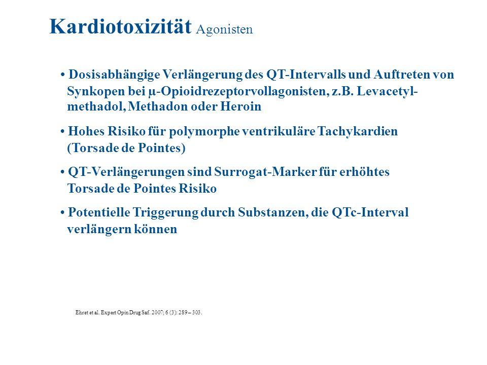 Kardiotoxizität Agonisten