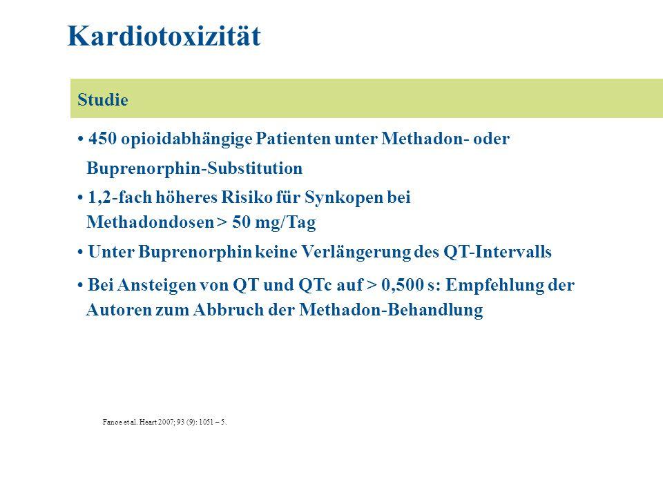 Kardiotoxizität Studie