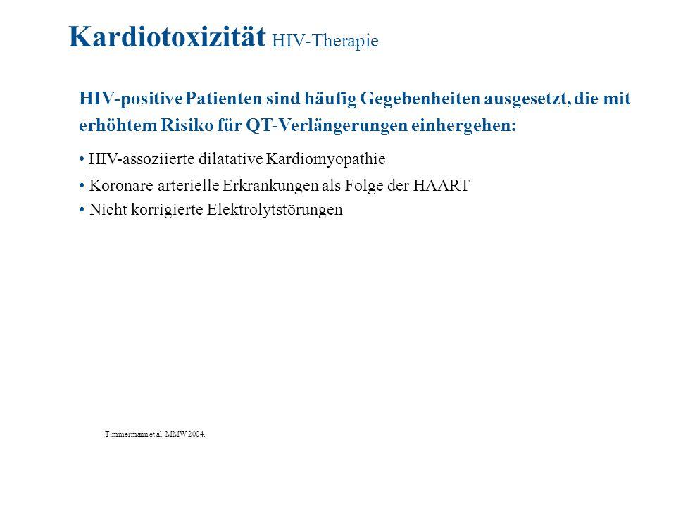Kardiotoxizität HIV-Therapie
