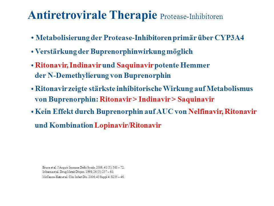 Antiretrovirale Therapie Protease-Inhibitoren