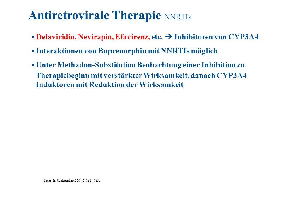 Antiretrovirale Therapie NNRTIs