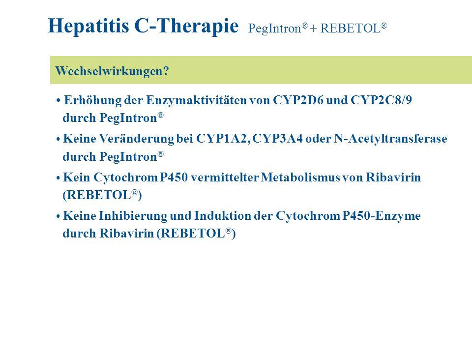 Hepatitis C-Therapie PegIntron® + REBETOL®