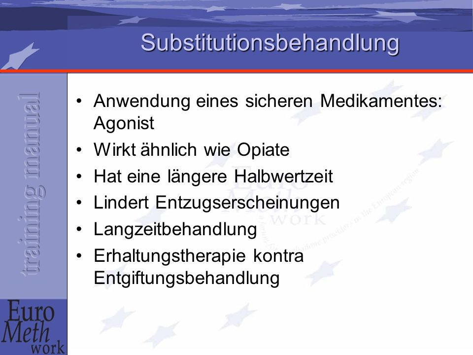 Substitutionsbehandlung