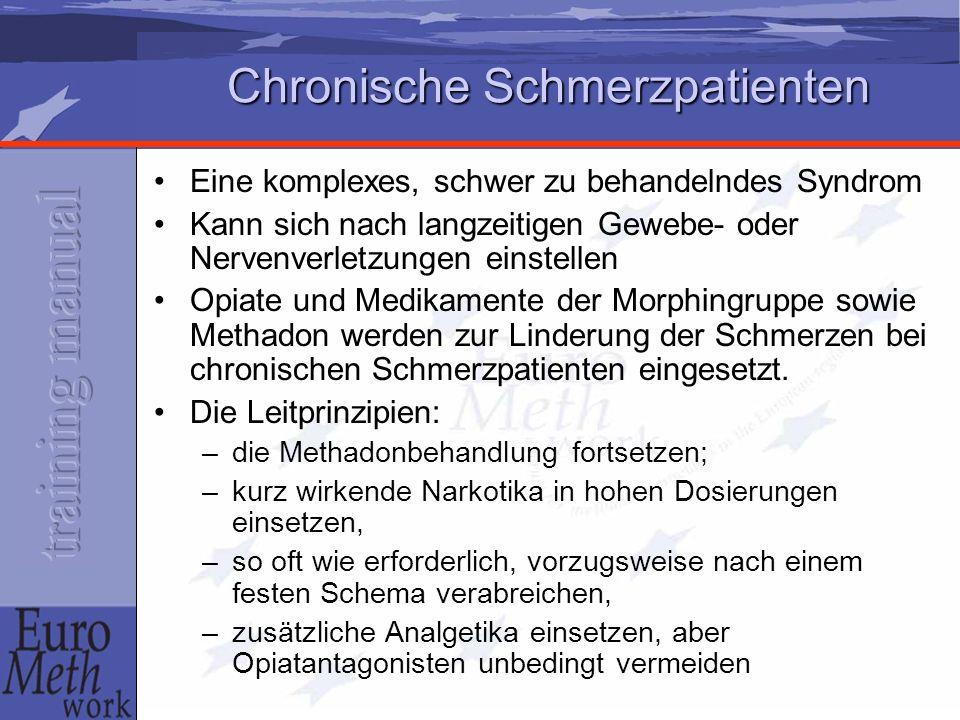 Chronische Schmerzpatienten