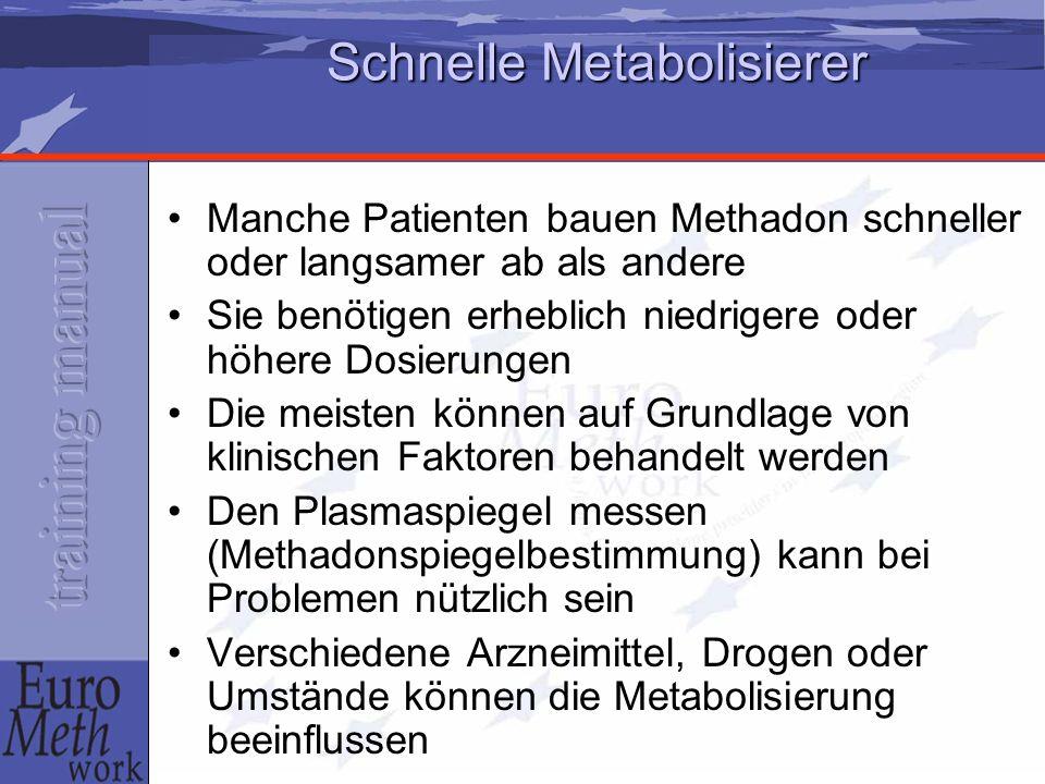 Schnelle Metabolisierer