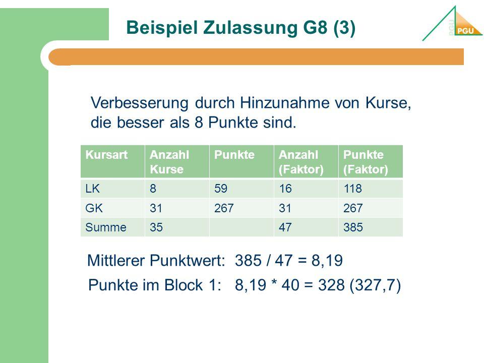 Beispiel Zulassung G8 (3)